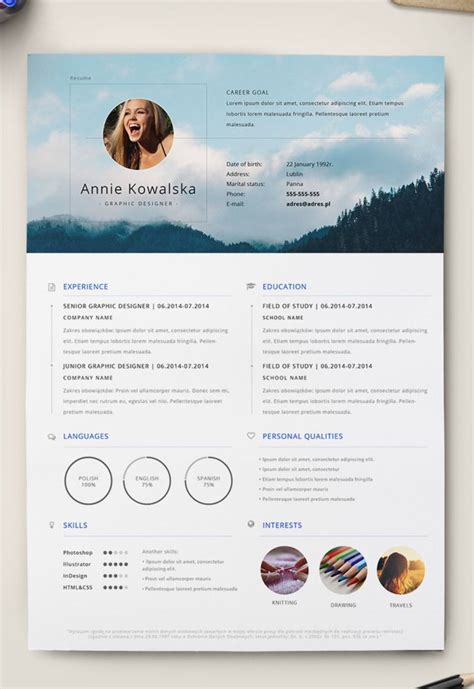 minimalist resume template photoshop 7 free editable minimalist resume cv in adobe illustrator and photoshop format miragestudio7
