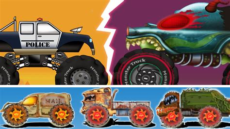 monster truck war haunted haunted house monster truck beware of the ghost vehicles