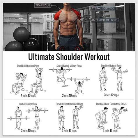 best fitness workout ultimate shoulder workout best fitness shoulders