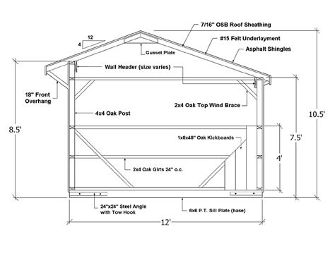 barn shed construction prefab shedrow horse barns