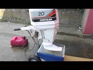 20 Hp Chrysler Outboard Motor Chrysler 20hp Outboard