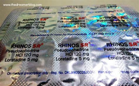 rhinos sr obat andalan ketika flu menyerang