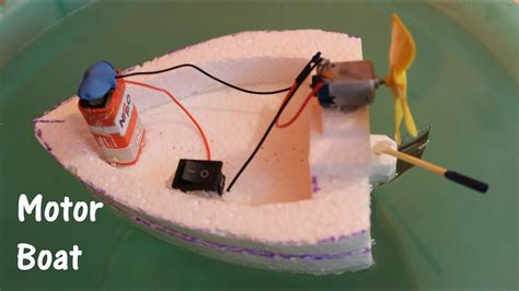 how to make a paper boat motor how to make an electric boat using thermocol and dc motor