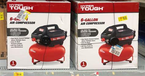 hyper tough air compressor possibly    walmart
