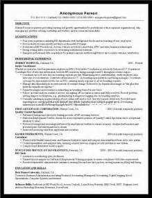 Career Objective For Human Resources Human Resource Resume Sample Alexa Resume