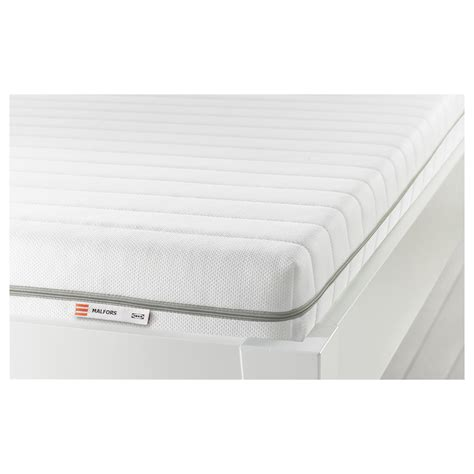 futon matratze ikea malfors foam mattress firm white 90x200 cm ikea