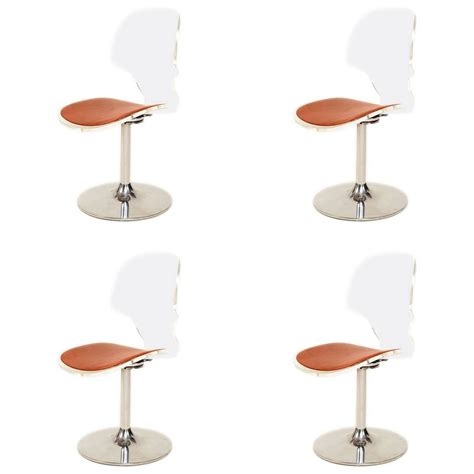 lucite dining room chairs mid century modern four lucite dining chairs for sale at