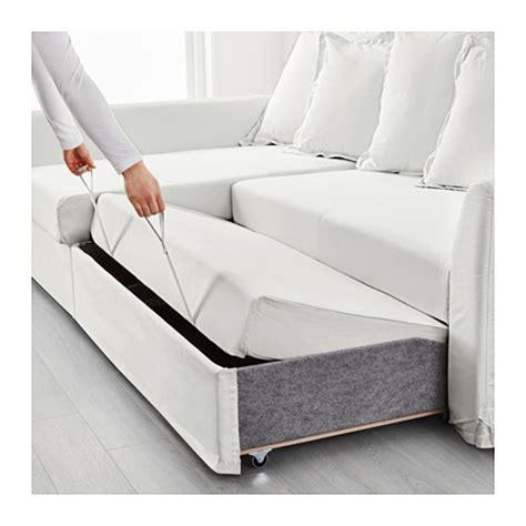 holmsund ikea holmsund corner sofa bed ransta white ikea