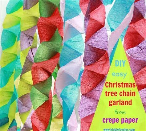 Make Crepe Paper Decorations - 214 best diy paper garland images on paper