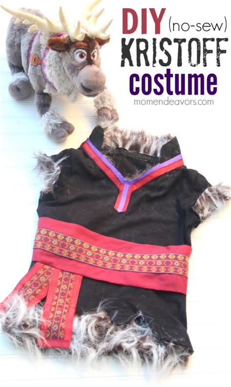 Kostum Kristoff Frozen by Diy No Sew Disney Frozen Kristoff Costume
