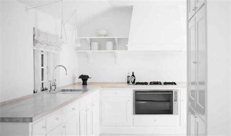 imagenes de cocinas blancas c 243 mo decorar cocinas blancas