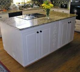 Kitchen Island Base Cabinets by Build Or Remodel Your Custom Kitchen Island Find Eien