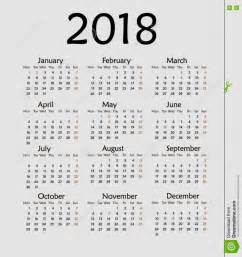 calendar for 2018 year creative calendar template