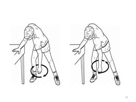 pendulum swings exercise frozen shoulder 9 6 15