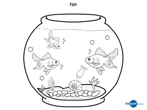 Coloring Pictures Of Fish Tanks | aquarium coloring pages az coloring pages