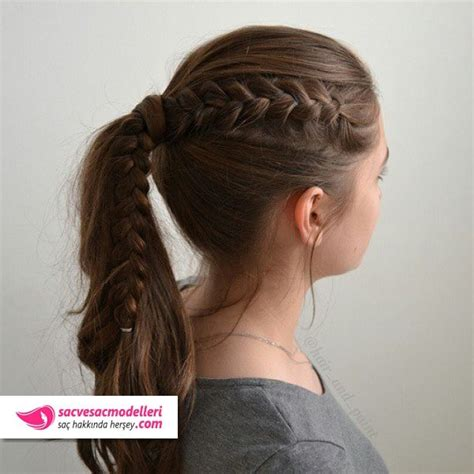 Cute Everyday Hairstyles For Teens Wikihow   32 best okul sa 231 modelleri images on pinterest braided