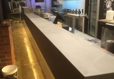 polished concrete bar top polished concrete bar top 5b concrete fair