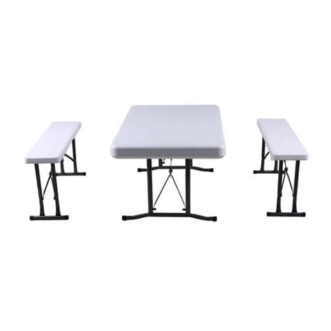Meja Dan Kursi Bar jual krisbow bar sets meja dan kursi portable putih harga kualitas terjamin