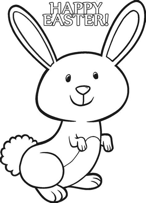 coloring pages of a bunny baby bunny coloring pages coloring home