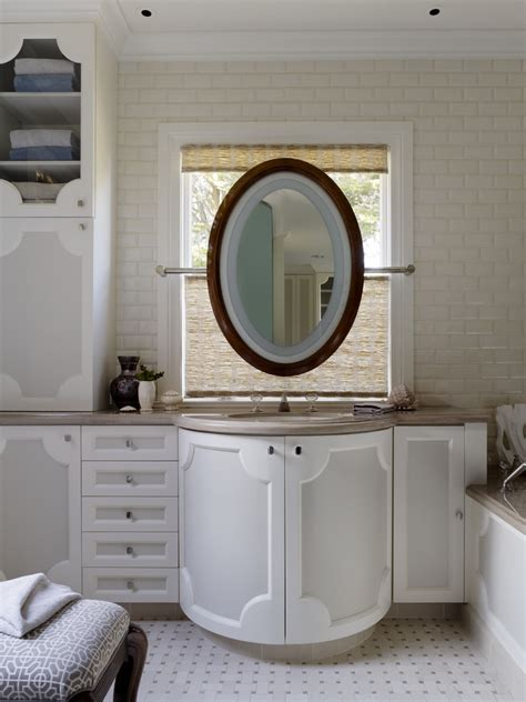 mirrors over bathroom sinks the best oval mirrors for your bathroom decor snob