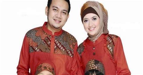 baju muslim 2014 sarimbit keluarga model baju batik muslim sarimbit keluarga terbaru
