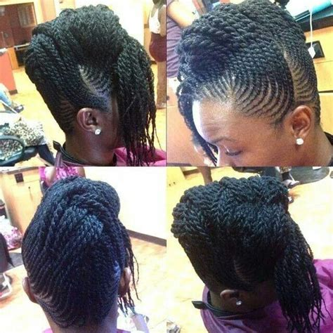 soft flat twist updo 124 best images about hairstyles on pinterest ghana