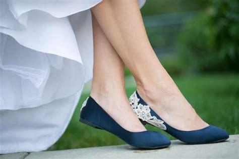 navy satin flat shoes wedding flats navy blue wedding shoes wedding flats