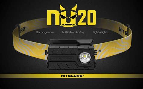 Nitecore Nu20 Cri Headl Nichia 219b 270 Lumens nitecore nu20 cri headl nichia 219b 270 lumens black jakartanotebook