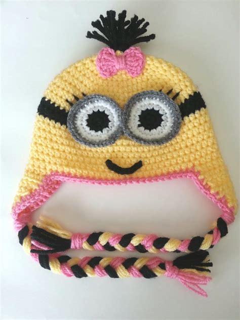 pattern crochet minion hat baby minion crochet hat