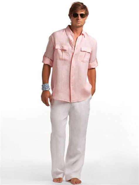 D Island Casual linen pilot shirt s resort wear island