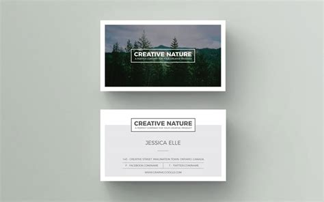 Free Business Card Templates Nature by 50 Free World Best Creative Business Card Design Templates