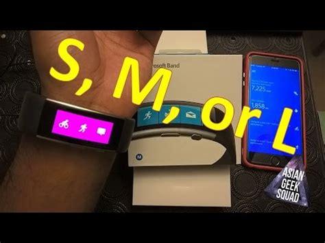 Hq 5018 Size S M L microsoft band 2 how to a size s m or l