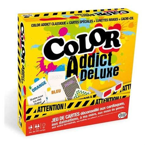 Asmodee Color Adict by Color Addict Version Fran 231 Aise