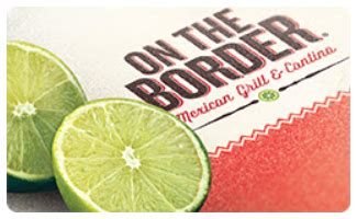 On The Border Gift Cards - free on the border gift card coupon giveaway