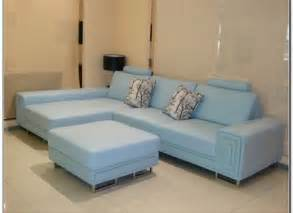 baby blue leather sofa light blue leather sofa alleycatthemes