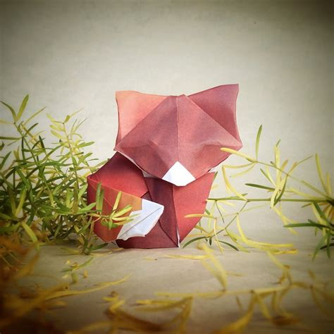 Creative Origami - adorable origami built with everyday objects by
