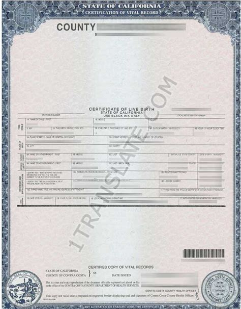 ukrainian russian us birth certificate translation