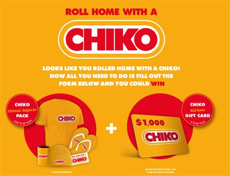 Instant Win Australia - simplot australia chiko roll home win 1 of 3 major australian competitions
