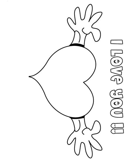 Valentines Day Coloring Pages I Love You Coloring Pages Coloring Pages I You