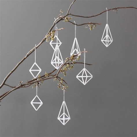 modern himmeli ornaments by amradio modern christmas