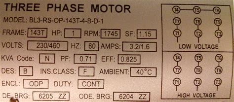 the leads of my 3 phase motor are incorrectly labeled how