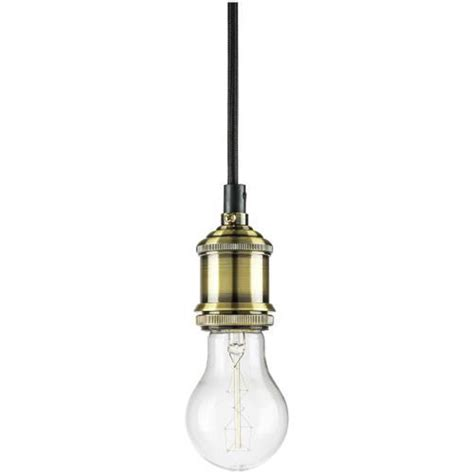 Sunlite 07034 Su Slim Pendant Light Socket Keyless Antique Pendant Light Socket