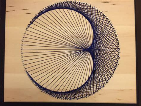 Cardioid String - geometric string cardioid stringkits