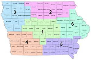 districts map iowa district map iowa section ares
