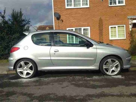 peugeot 206 gti for sale peugeot 2004 206 gti 180 silver car for sale