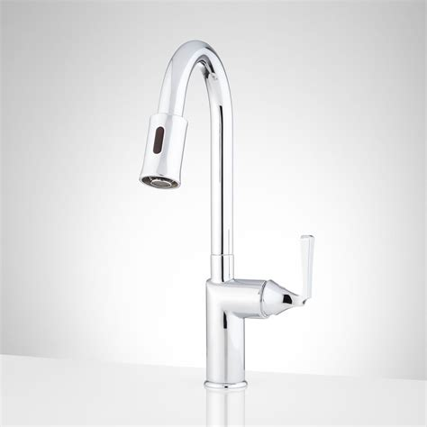 touch on kitchen faucet best touch activated kitchen faucet