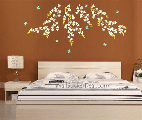 Nusery Wall Stickers vine and butterfly wall stickers wallstickerdeal com