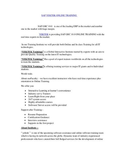 sap grc resume resume ideas