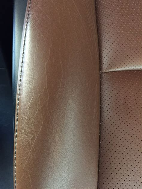 Leather Cracking by Leather Seat Cracking On 2014 Rx 350 Clublexus Lexus