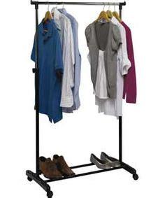 Wardrobe Rail B Q by Ideas For New Place On Storage Baskets